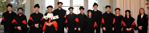 Graduation ceremony at CIMeC 7 December 2012